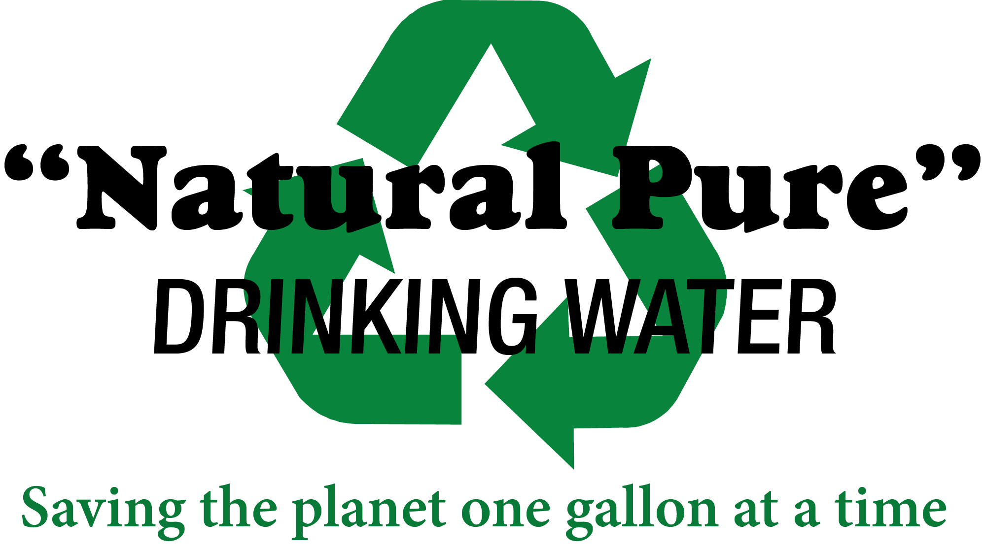 """Natural Pure"" Drinking Water"